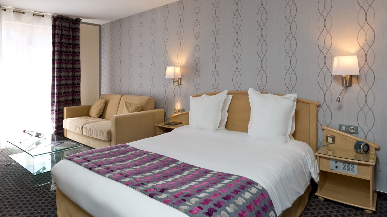 Chambre 3 Best Western Lafayette Hotel & Spa Epinal France